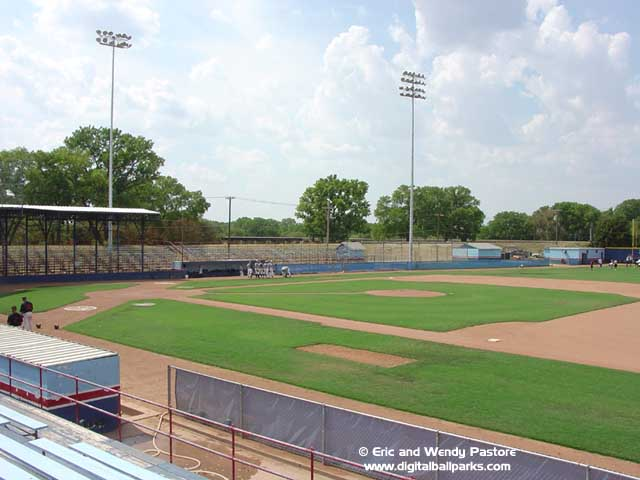 Hobart Detter Field in Hutchinson, Kansas
